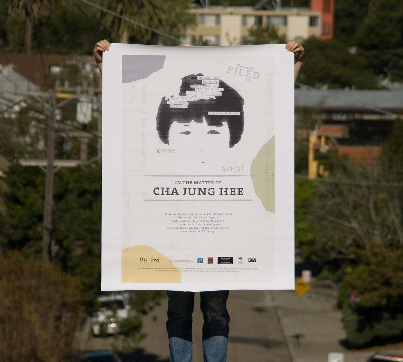 matter of cha jung hee poster design